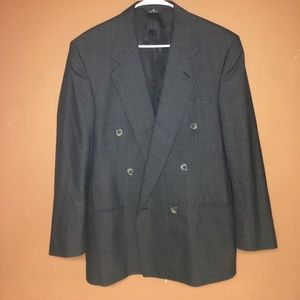 Perry Ellis Double Breasted Sport Coat Size 40L